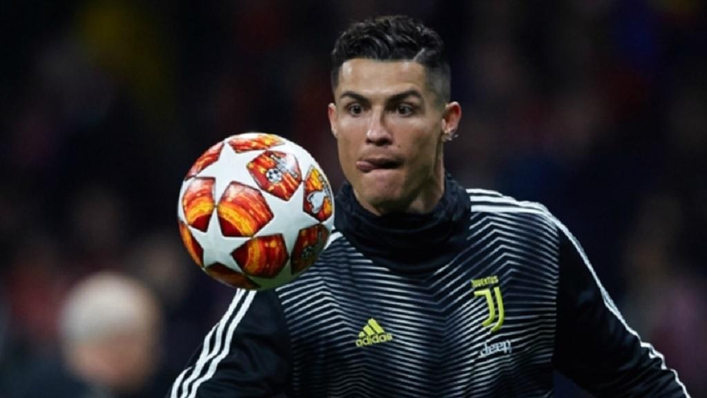 Juventus striker Cristiano Ronaldo.
