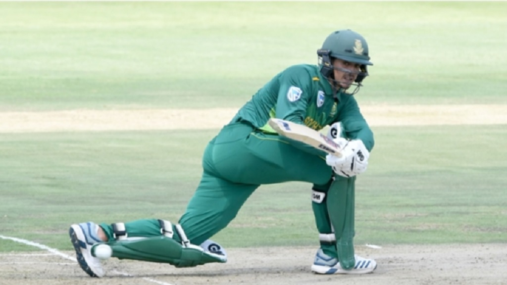 South Africa's Quinton de Kock.
