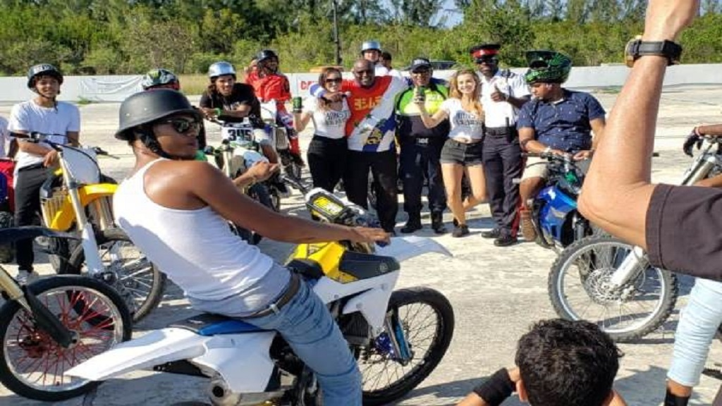 The Stunt Fest Mania event at the Breakers Speedway was a big hit