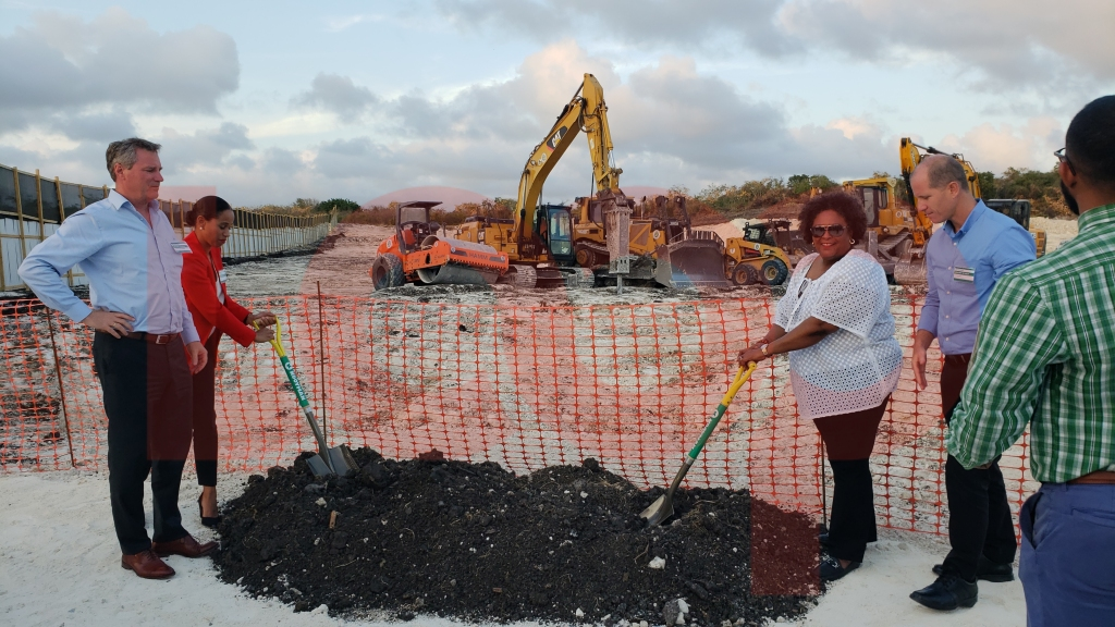 Kooyman Barbados groundbreaking ceremony