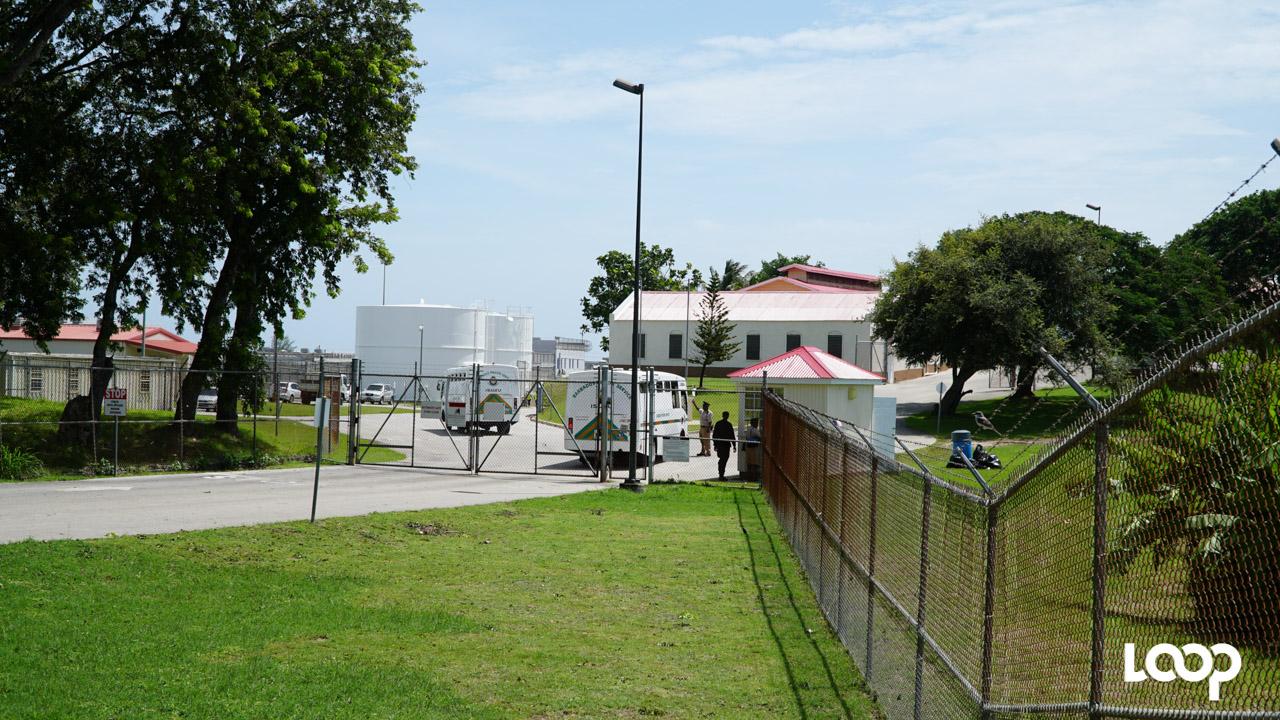 Her Majesty's Prison - Dodds in St. Philip, Barbados. (FILE)