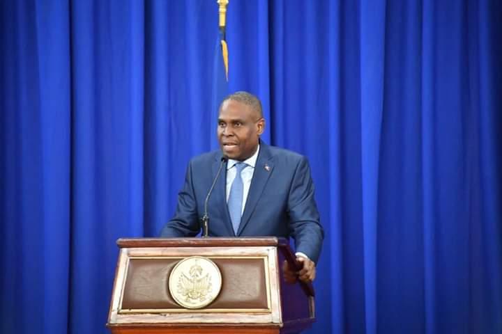 Le premier ministre Jean Henry Céant Crédit Photo : Page Facebook Jean Henry Céant