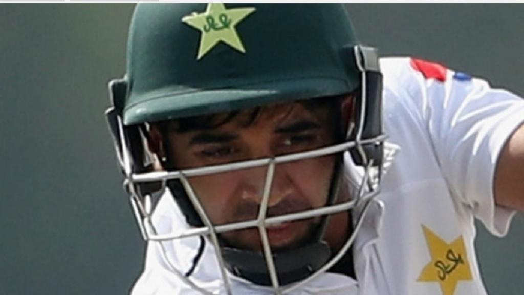 Pakistan's Abid Ali.