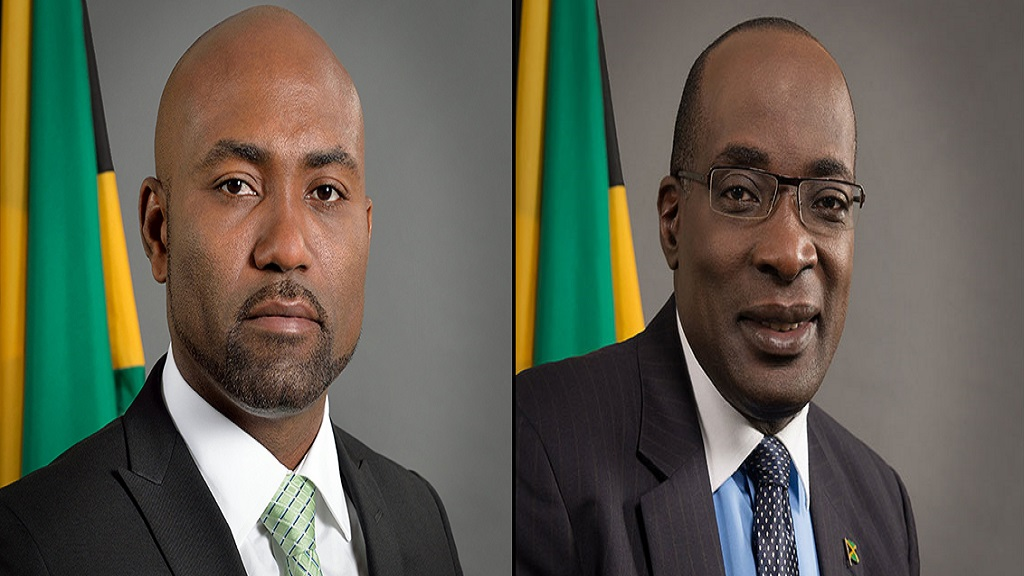 Ruel Reid (right) resigned as Education Minister on March 20, eight months after Andrew Wheatley (left) stepped down as Energy Minister. Both men departed their posts amid allegations of corruption.