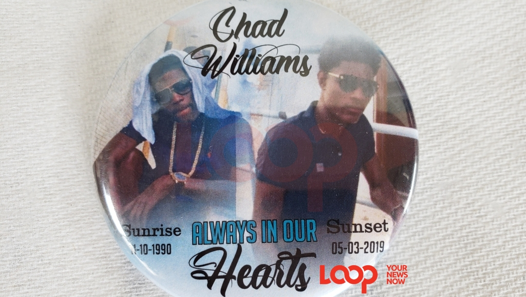 Chad Williams gone but not forgotten by his family and famalay.