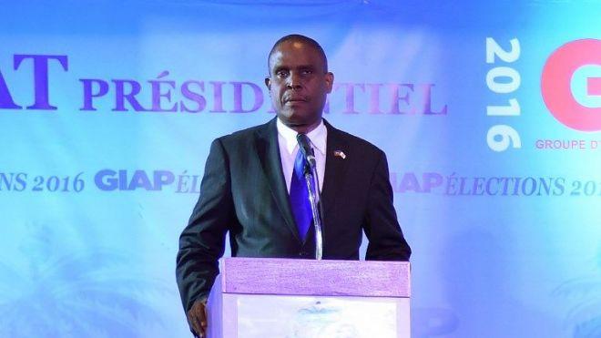 L'ex premier ministre haïtien, Jean Henry Céant