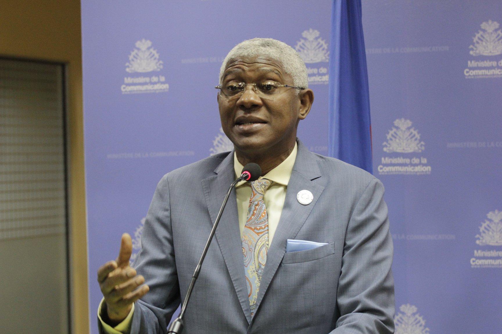 Agabus Joseph, Directeur général de l'Ofatma/ Photo fournie par le ministère de la Communication