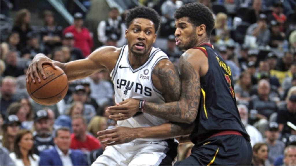Rudy Gay of the San Antonio Spurs.