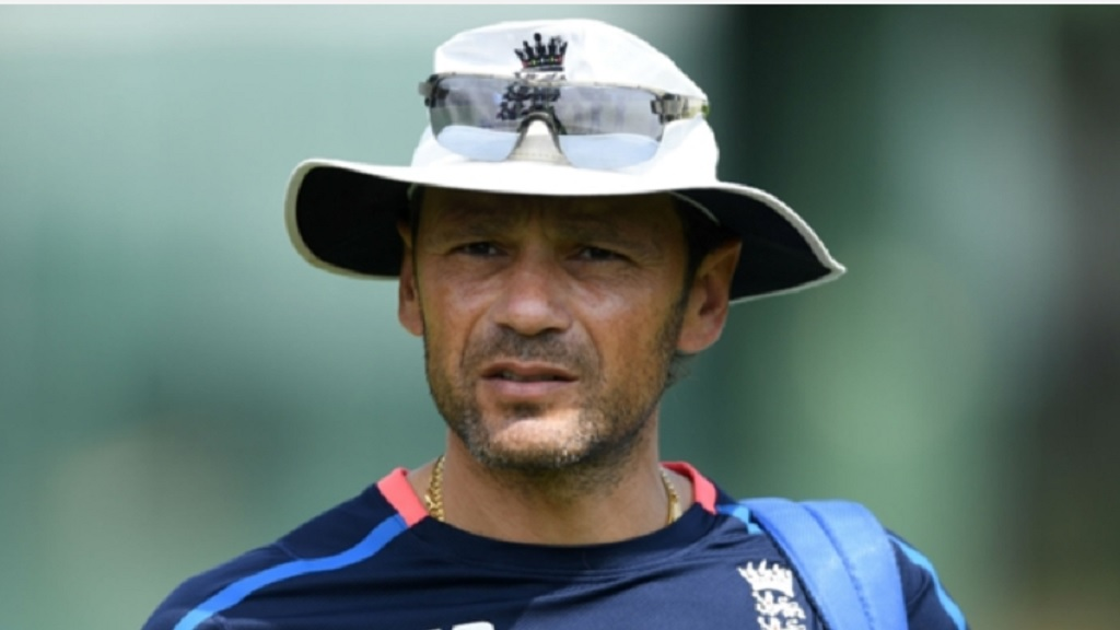 England batting coach Mark Ramprakash.