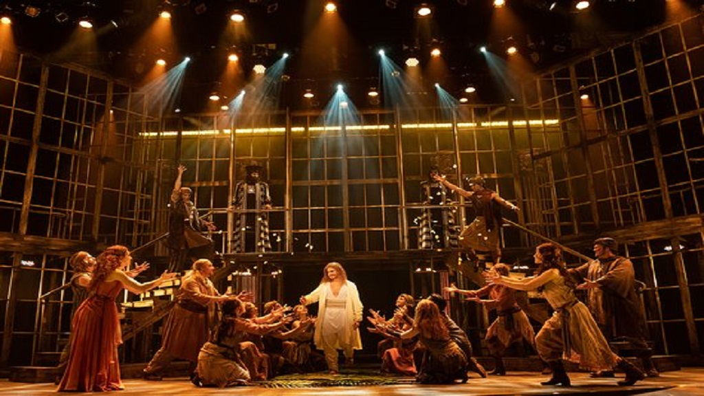 The Broadway musical, Jesus Christ Superstar, on show.