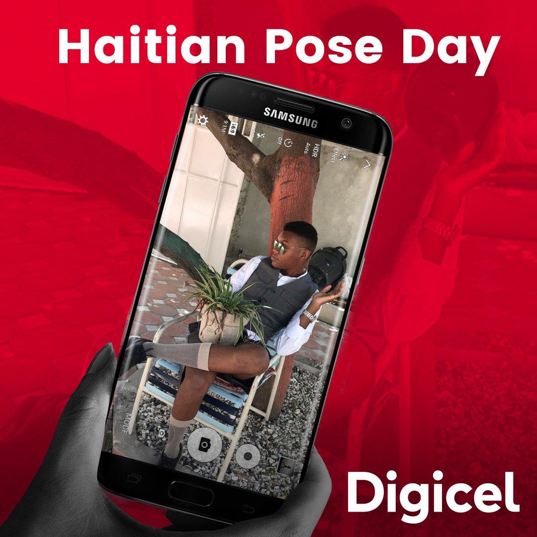 Haitian pose day : la Digicel offre un téléphone DL501