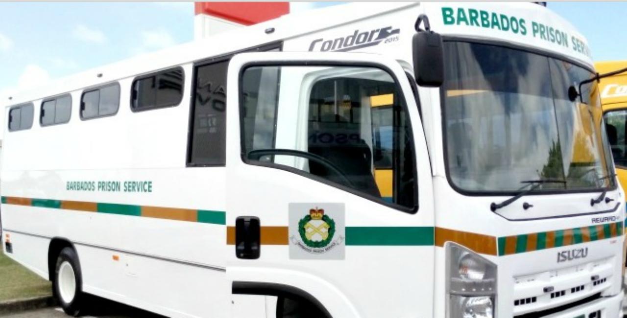 Prison bus (FILE)