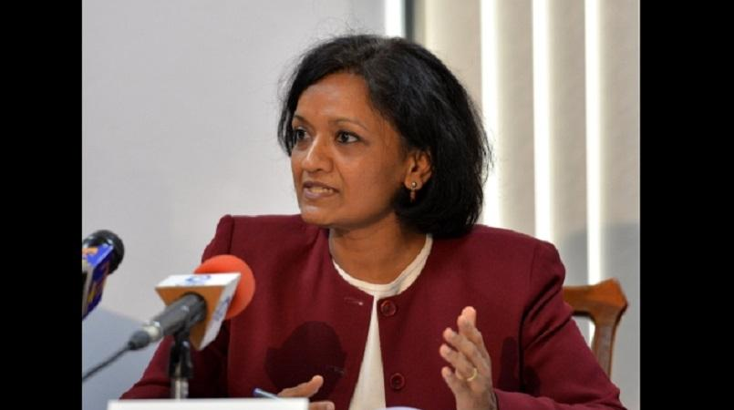 Dr Uma Ramakrishnan, the International Monetary Fund (IMF) Mission Chief for Jamaica.
