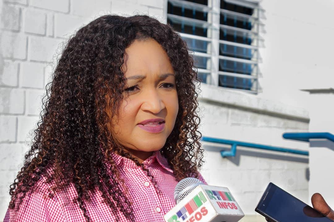 La mairesse de Tabarre, Nice Simon, le 8 mars 2019/ Photo: Conseil municipal de Tabarre