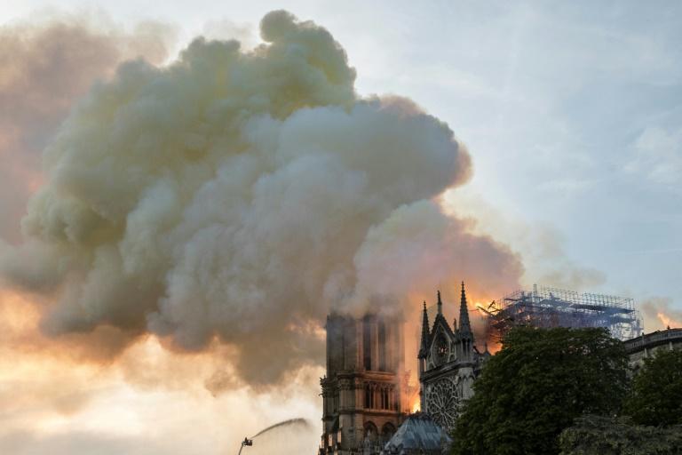 Notre-Dame de Paris en flammes, le 15 avril 2019