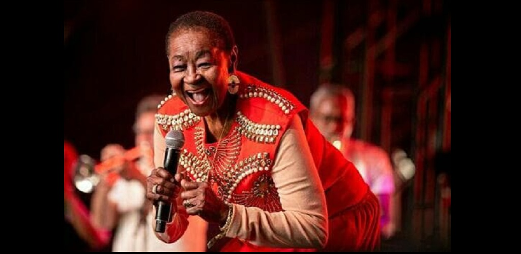Calypso Rose took the 2019 Coachella stage on Friday, with an outstanding and entertaining performance in true Caribbean style.