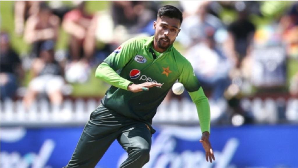 Pakistan bowler Mohammad Amir.