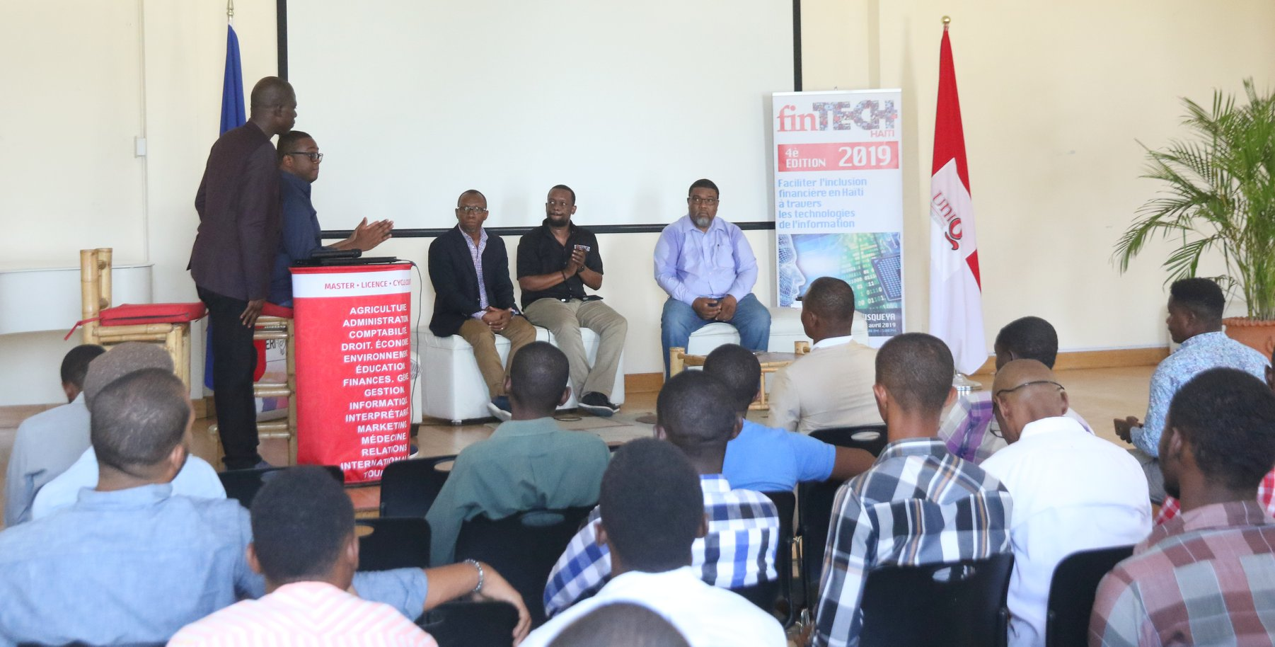 La 4e édition de la Fintech en images: les participants 2/ Photo: Facebook/fintechhaiti