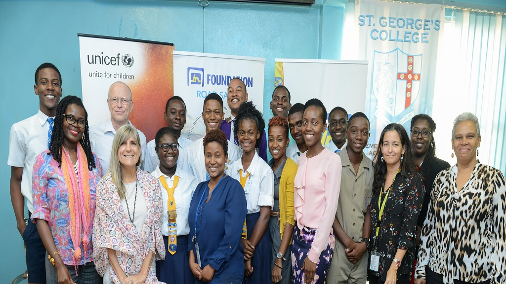 The students made the recommendations during a recent meeting with JN Foundation and a UNICEF Delegation, to discuss the collaborative efforts of the Road Safety Programme and the Students' Safety on the Streets (SSOS) Initiative.