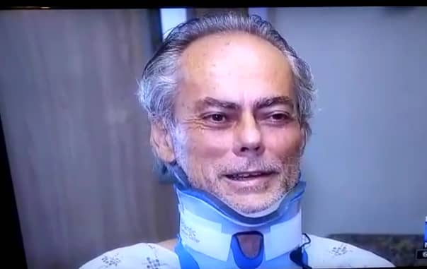 Le médecin américain Douglas Burbella