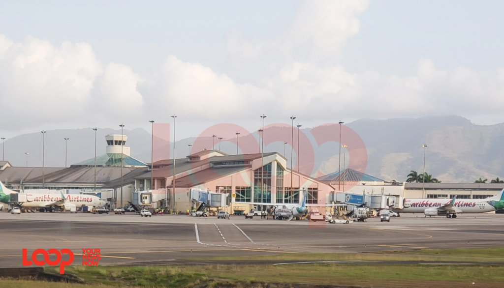 Piarco International Airport in Trinidad and Tobago (April 12, 2019)