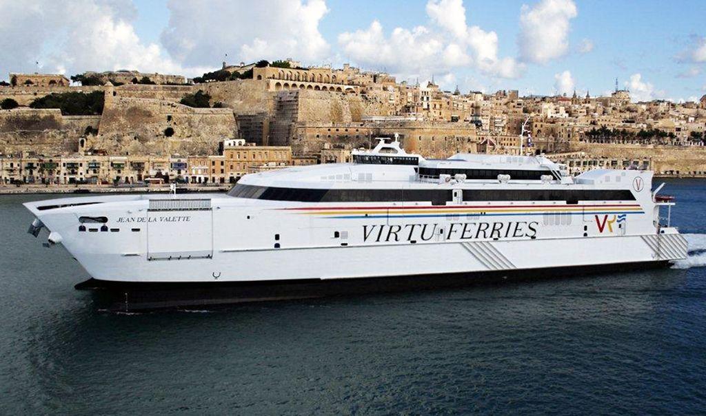 Photo via Virtu Ferries.