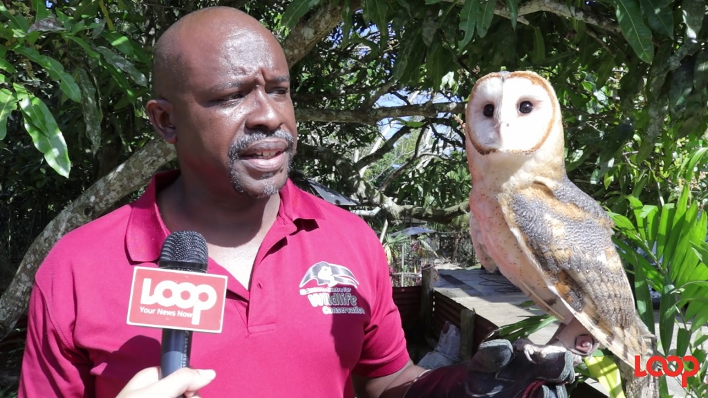 Photo: Ricardo Meade, director and founder of El Socorro Centre for Wildlife Conservation.