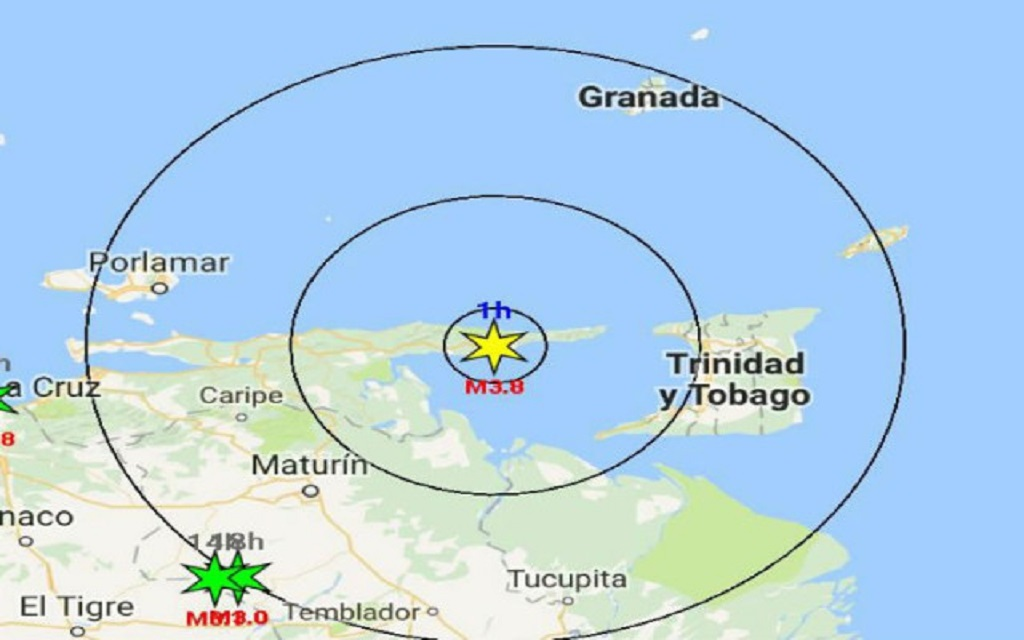 Photo: Venezuelan news agency La Vistazo highlighted the town of Güiria and the approximate location of the incident which left approximately 33 Venezuelans missing at sea.