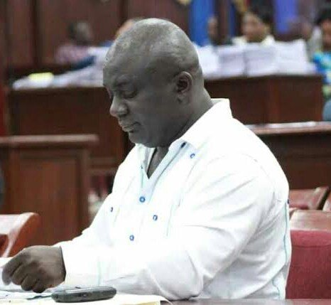 Photo du député décédé Eliance Petit-Frère, représentant de la circonscription de Ferrier / Les Pêches