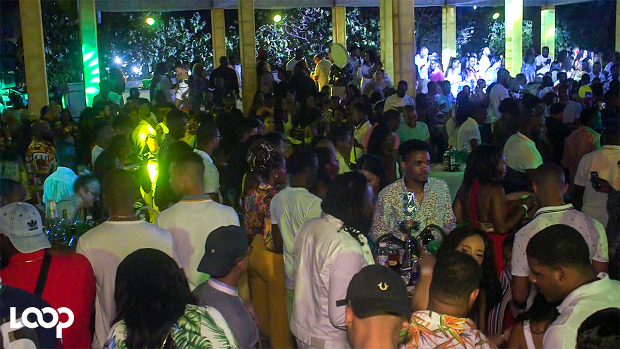 Patrons crowd the dance floor at DayDreams in St Ann. (PHOTO: Shawn Barnes)