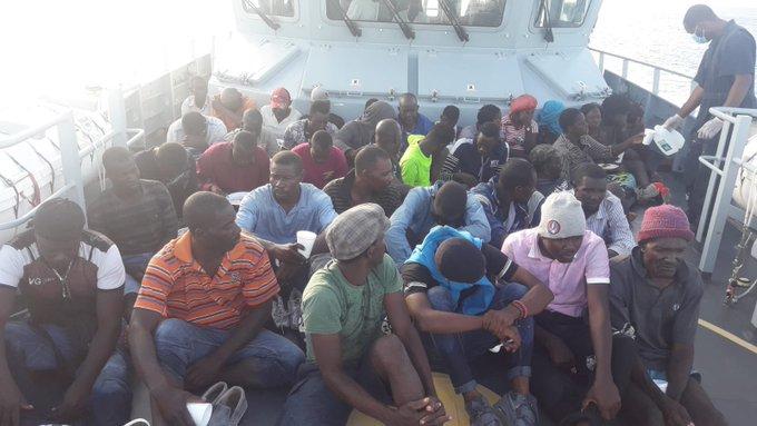 Photo illustrant des migrants interceptés aux Bahamas - Crédit : Jacqueline Charles