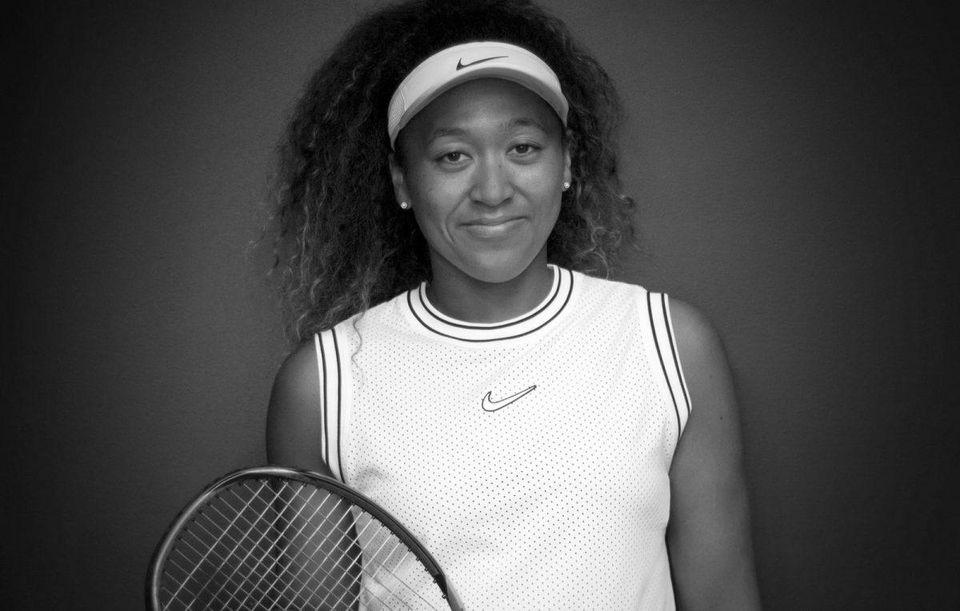 Naomi Osaka Photo: Nike