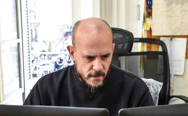 Aymeric Vincenot, le directeur du bureau de l'Agence France-Presse (AFP) en Algérie, le 1er mars 2019 à Alger