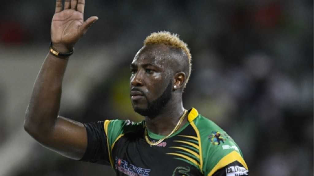 Jamaica and West Indies all-rounder Andre Russell.