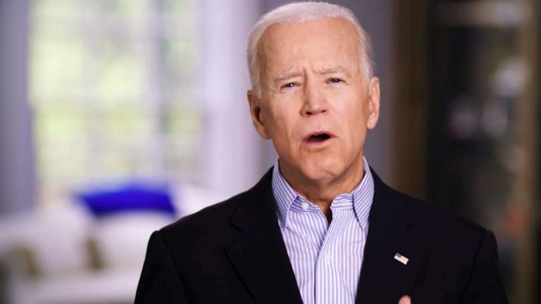 L'ancien vice-président Joe Biden dans sa vidéo annonçant sa candidature à l'investiture démocrate le 25 avril 2019