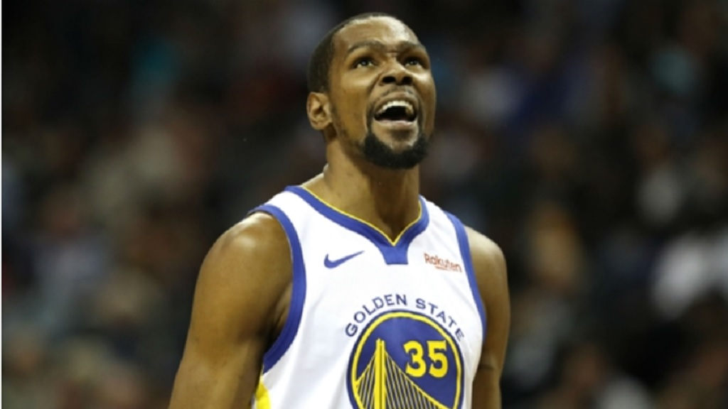 Golden State Warriors star Kevin Durant.