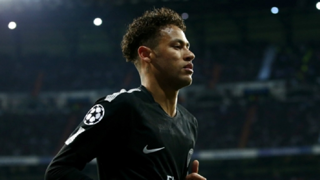 Neymar in action for Paris Saint-Germain.