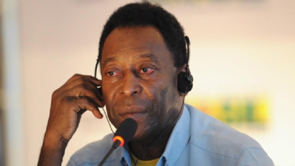 Former Brazil star Pele.