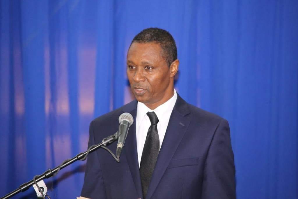 Clarens Renois, leader du parti politique UNIR.