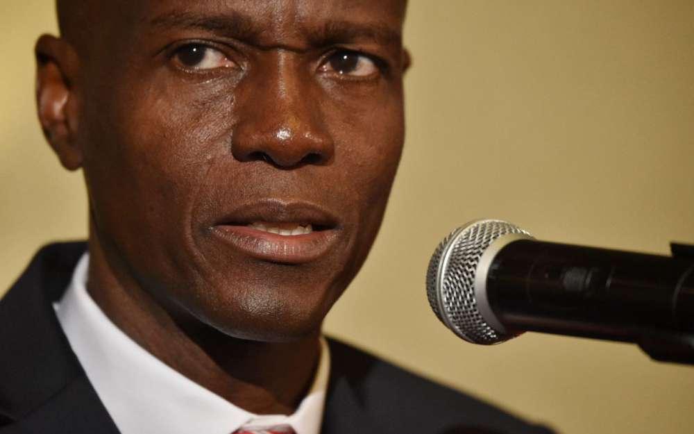 Le président haïtien, Jovenel Moise./Photo: AFP