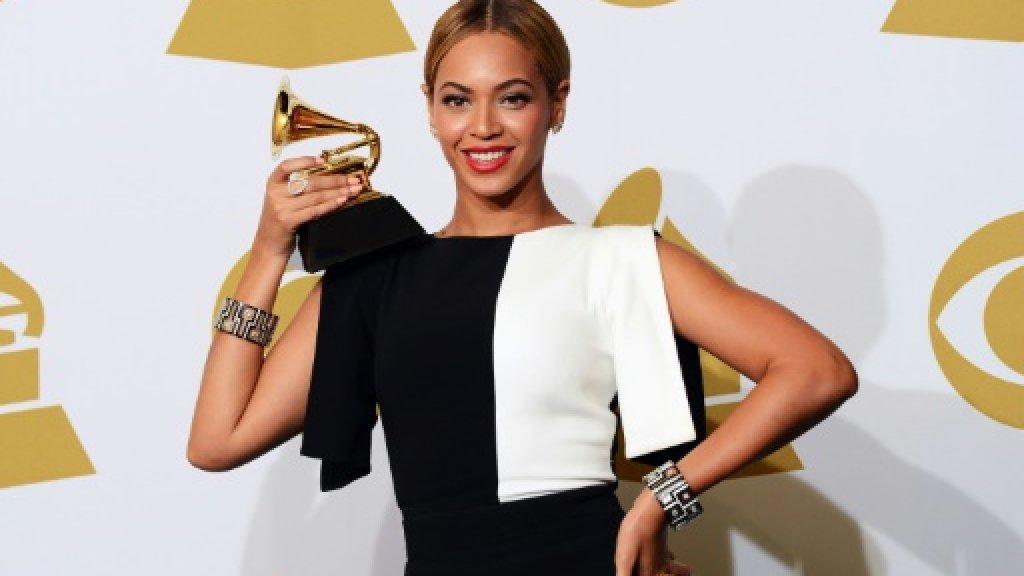 Beyoncé après la cérémonie des Grammy Awards, en 2013 GETTY IMAGES NORTH AMERICA/AFP