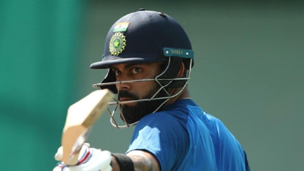Virat Kohli was in the runs again.