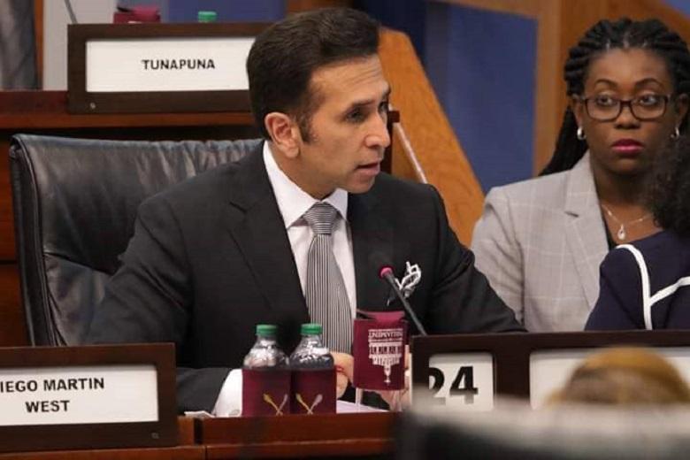 Attorney General Faris Al-Rawi. Photo courtesy: TT Parliament.