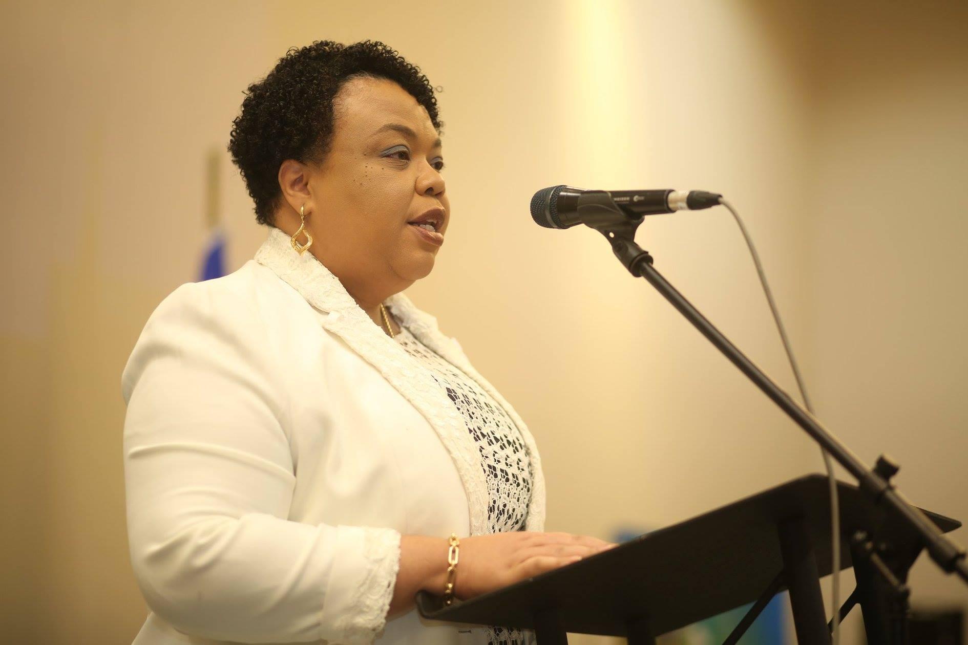 Dr Marie Gréta Roy Clément, la Ministre de la Santé Publique et de la Population - Crédit Photo : Crédit Photos: Greslet Etienne