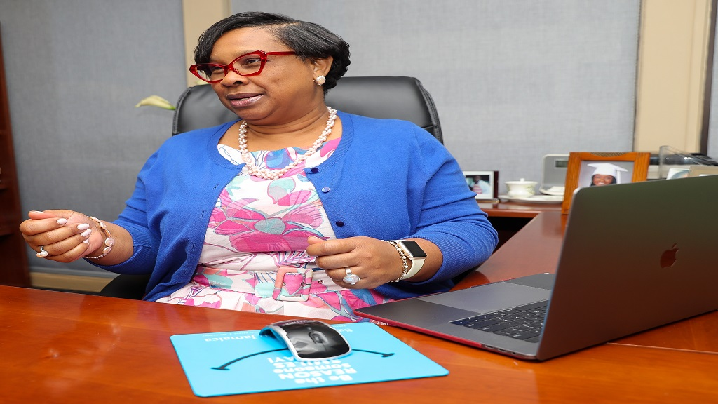 Vice President of Insurance Operations, Sagicor Life, Audrey Flowers-Clarke, urged clients to sign up for the platform and benefit from the convenience and ease of access it offers.