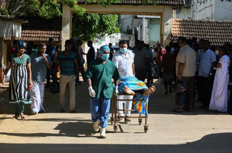 L'un des attentats a eu lieu dans l'église Saint-Sébastien à Negombo, dans le nord de Colombo, le 21 avril 2019