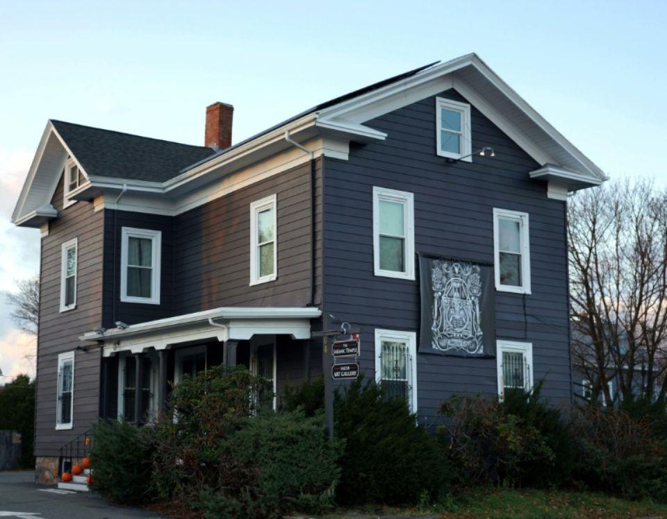 Le siège du Satanic Temple dans la ville de Salem, dans l'Etat du Massachusetts Photo Handout. AFP