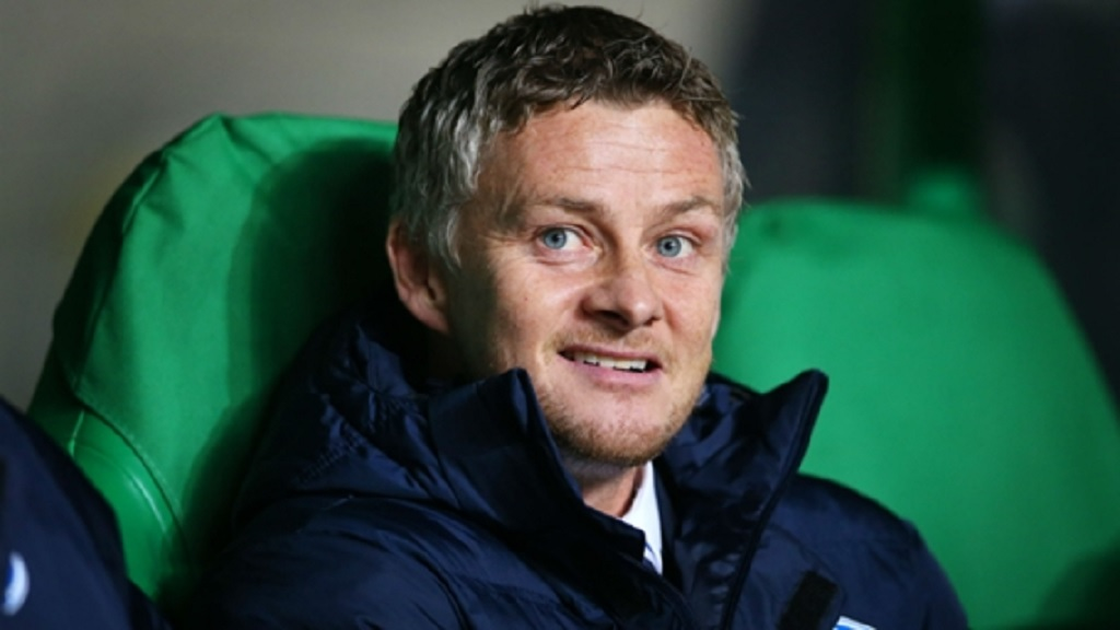 Ole Gunnar Solskjaer  in charge at Molde.
