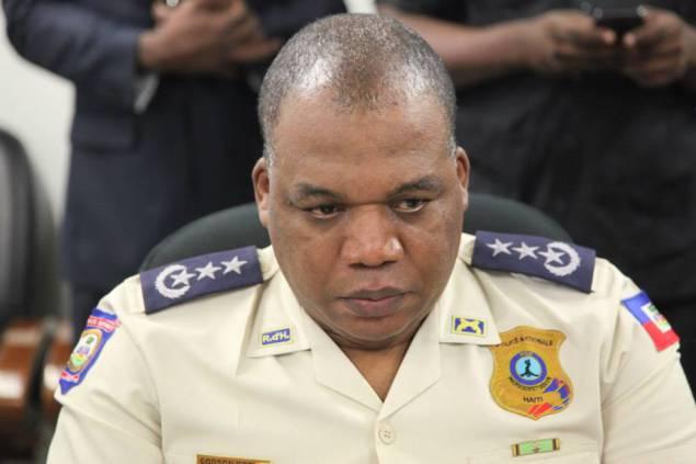 L'ancien Directeur Général de la Police Nationale d'Haiti, impliqué dans le dossier de cargaison d'armes illégales à Saint-Marc.