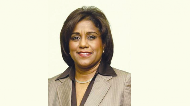 Minister of Trade and Industry Paula Gopee-Scoon.